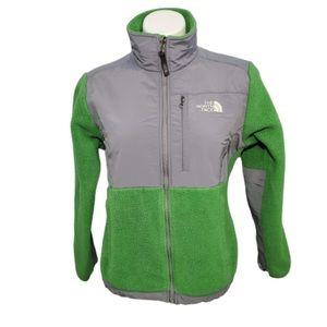 The North Face - Green Fleece Full-Zip Jacket
